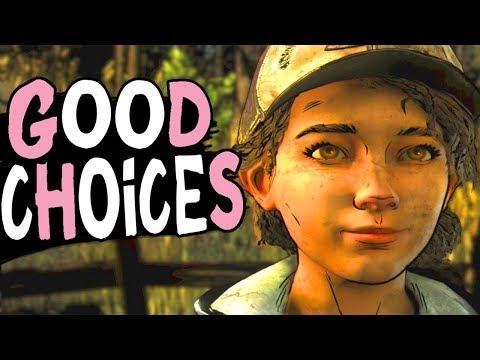 The Walking Dead Season 4 Episode 3 - GOOD CHOICES - Violet Path Good Ending