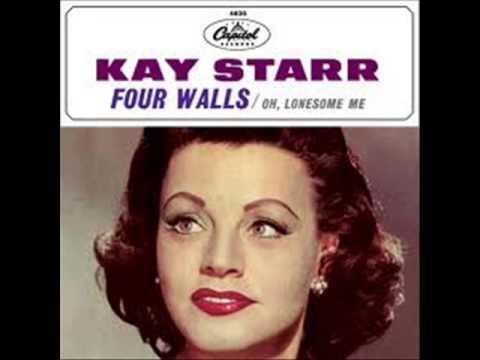 Tekst piosenki Kay Starr - Four Walls po polsku