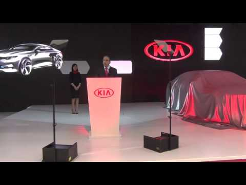 KIA - Dubai International Motor Show 2015