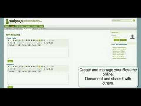 Al Mahara - An overview of the Mahara open source ePortfolio system...in under five minutes.