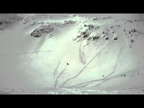1995 ski doo summit 670 in the mountans (видео)