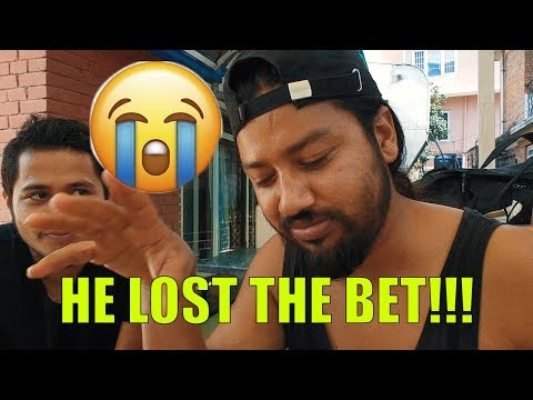 (He lost the bet!!! | VLOG | Sushant Pradhan - Duration: 15 minutes.)