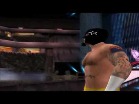 CM Punk Masked Attire SvR 2010 CAW Entrance(PS2)
