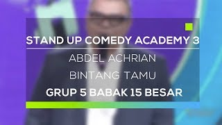 Video Stand Up Comedy Academy 3 : Abdel Achrian MP3, 3GP, MP4, WEBM, AVI, FLV Mei 2019