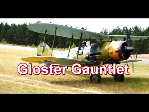 Gloster Gauntlet MkII Landing Jämi...