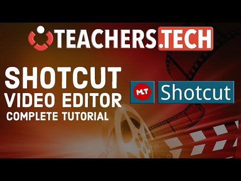 Shotcut Video Editor 2018 Tutorial - Designed For Beginners