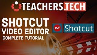 Video Shotcut Video Editor 2018 Tutorial - Designed for Beginners MP3, 3GP, MP4, WEBM, AVI, FLV Oktober 2018