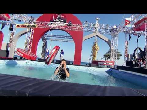 غادة عادل تواسي هذا المتسابق في Ninja Warrior بالعربي
