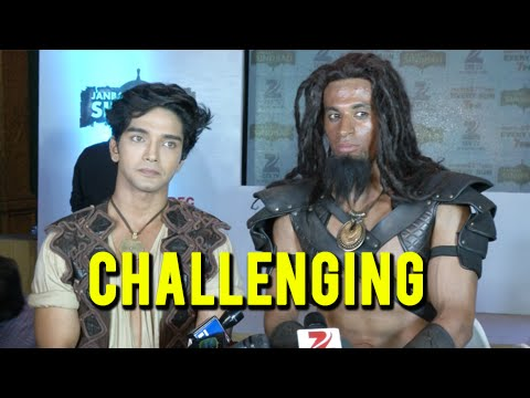 Harsh Rajput And Tarun Malhotra Find Janbaaz Sindbad Challenging | Show Launch | Zee TV