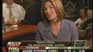Naomi Klein vs Fox Business News
