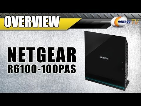 NETGEAR R6100-100PAS AC1200 Dual Band R6100 Wi-Fi Router Overview - Newegg TV