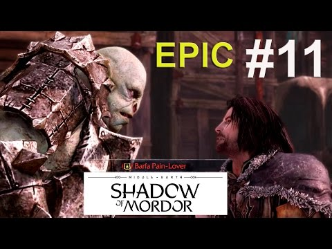 Middle Earth : Shadow Of Mordor (PS4) #11 Cry Havoc Walkthrough Gameplay