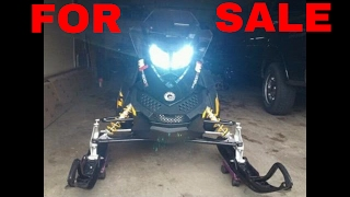 2. 2009 ski doo mxz adrenaline 50th anniversary SOLD