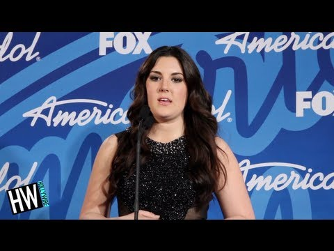 Harrison - Kree Harrison Reflects Moments After Losing American Idol Subscribe to Hollywire | http://bit.ly/Sub2HotMinute Send Chelsea a Tweet! | http://bit.ly/TweetChe...