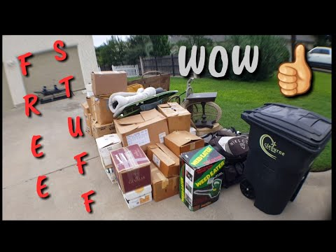 Trash Picking | Dumpster Diving | Finding Good Stuff