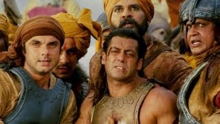 Warrior Salman Khan bleeds red - Veer