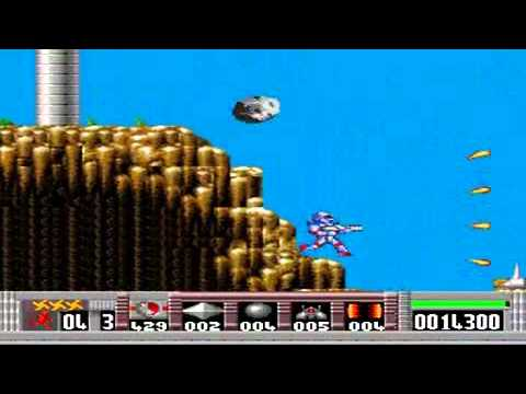 test turrican pc engine