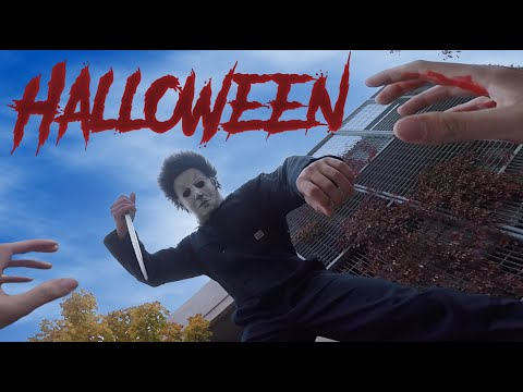 Halloween Michael Myers VS Parkour POV