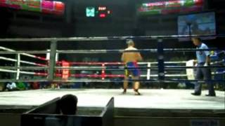 Olli Diamond Muay Thai Fighting Out Of Kiatphontip Gym, BKK 2010