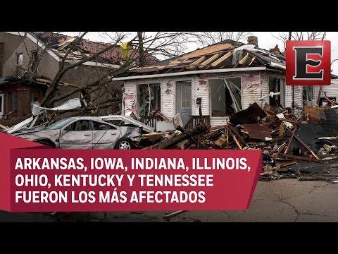 Tornados en Estados Unidos dejan tres muertos