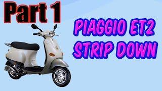 10. Vid 1 Piaggio Et2 Vespa Respray Restoration