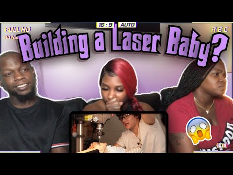 HE REALLY DID IT 😱   REACTION   BUILDING A LASER BABY by MICHAEL REEVES