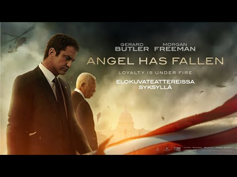 ANGEL HAS FALLEN elokuvateattereissa 23.8.2019 (traileri)