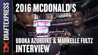 Udoka Azubuike - 2016 McDonald's All American Interview by Markelle Fultz