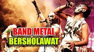 Band Metal Purgatory Kumandangkan Sholawat