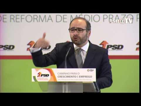 Miguel Pinto Luz na Sessão de Abertura das V Jornadas CCC em Lisboa