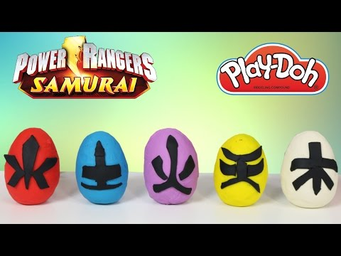 Video Play-Doh Power Rangers Surprise Eggs Opening With Ckn Toys Super Samurai Dino Charge Megaforce download in MP3, 3GP, MP4, WEBM, AVI, FLV February 2017