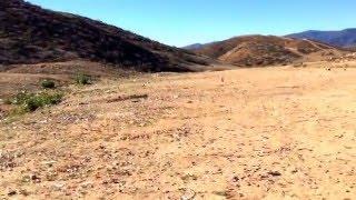 BLM shooting area near Lake Elsinore, Riverside County, California