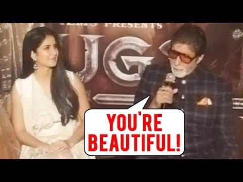 Katrina Kaif REACTS On Amitabh Bachchan's Comment