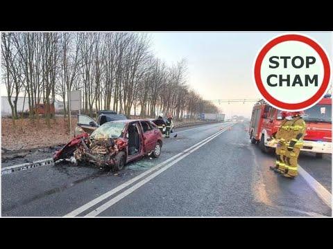 Potężna czołówka Forda i Porsche – wypadek na DK92