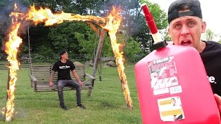 MY HORRIBLE FIRE SWING FAIL!! (GAD idea)