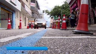 Projeto quer ampliar calçadas para revitalizar centro de Sorocaba