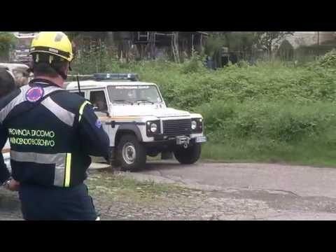 Odescalchi 2016, la simulazione di un incendio boschivo a Ponte Chiasso