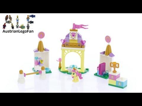 Vidéo LEGO Disney 41144 : L'écurie royale de Rose