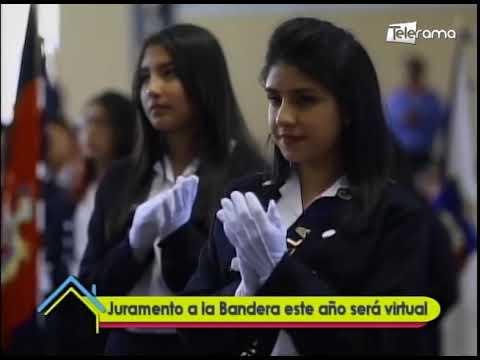 Juramento de la Bandera este año será virtual