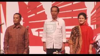Merinding,, Lagu Indonesia Raya Berkumandang   Temu BMI Hongkong 2017   HD