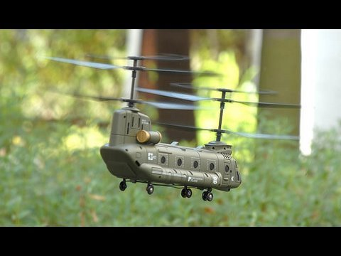 Syma MICRO CH-47 Chinook Helicopter Product review.
