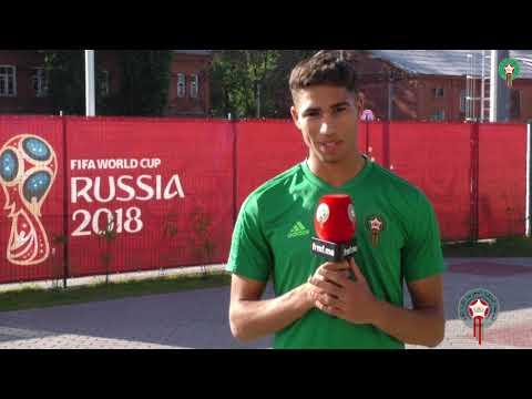العرب اليوم - شاهد: الأسود يوجّهون رسائل شكر للجمهور المغربي بعد مباراة البرتغال