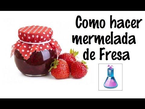 Como hacer mermelada de fresa comercial ecolog a - Como hacer zumo de fresa ...
