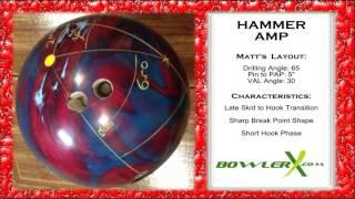Hammer Amp Bowling Ball Reaction Video - BowlerX.Com