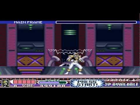 mighty morphin power rangers the movie super nintendo passwords
