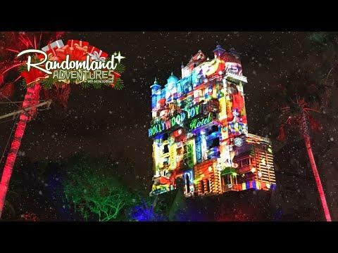 Walt Disney World's NEW Tower of Christmas!!