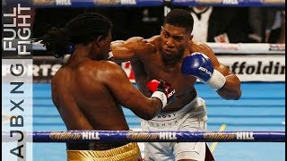 Video Full Fight | AJ Vs Charles Martin KO MP3, 3GP, MP4, WEBM, AVI, FLV Februari 2019