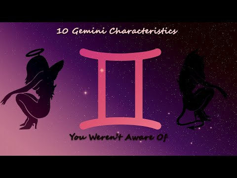 10 Gemini Characteristics you weren't aware of | Gemini Traits | A Devil with Beauty