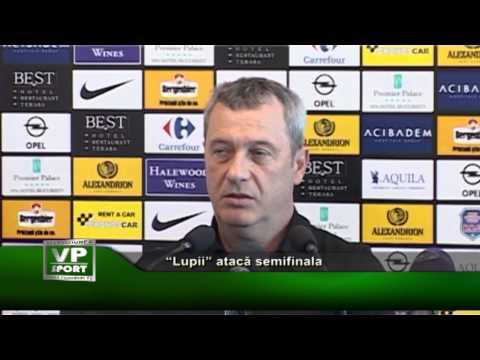 """""""Lupii"""" atacă semifinala"""