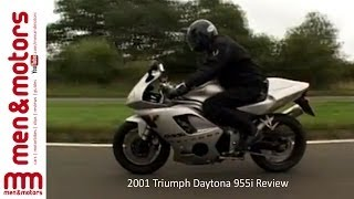 7. 2001 Triumph Daytona 955i Review
